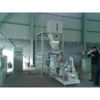 Wholesale 600kg/h double screw extruder Vietnam fish feed machine price from china suppliers