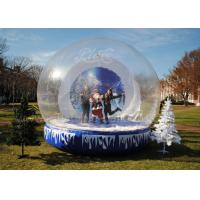 Wholesale 3 Meter Clear Inflatable Advertising Balloons , Inflatable Christmas Igloo Decoration from china suppliers
