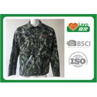 Wholesale Anti - Static Hunting Outdoor Clothing Thermal OEM / ODM Waterproof Hunting Coat from china suppliers
