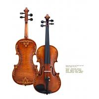 Wholesale V07-carved Violin 4/4 Advanced Italy handmade violin Antique Spruce wood Violino Musical Instrument,violin case,rosin from china suppliers