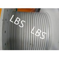 Wholesale Hydraulic Crane Winch For Boat / Truck , Windlass Anchor Winch With Lebus Drum from china suppliers