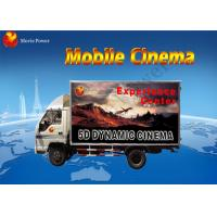 Wholesale Scared Entertainment Films Mobile 7D Cinema With Game Gun Shooting from china suppliers