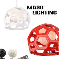 Wholesale Creative Football Type Indoor Resin Pendant Lamp Environment Friendly Energy Save Source from china suppliers