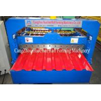 Wholesale High speed 0.4 - 0.8mm Thickness Wall Panel Roll Forming Machine For Garden , Hotel from china suppliers
