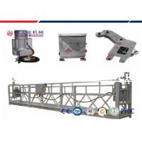Wholesale 9.6m / Min 500kg Personnel Hoist System Electric Suspended Scaffolding from china suppliers