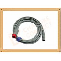 Wholesale IBP Adapter Cable B .Braun Invasive Blood Pressure Cable 12 Pin , UL And Rohs Standard from china suppliers