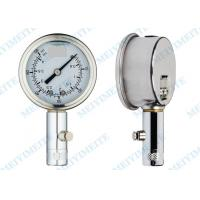 Wholesale 50mm Tyre pressure gauge with the chrome stem , precision tire pressure gauge from china suppliers