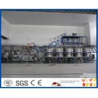 Wholesale 3000-4000BPH Soft Drink Production Line , Beverage Production Process Semi Automatic Soda Filling Machine from china suppliers