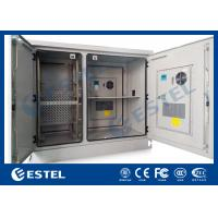 Wholesale Telecommunication Base Station Cabinet , Outdoor Electrical Cabinets Two Bay ET1678140 from china suppliers
