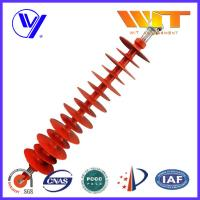 Wholesale 110KV Hang Type Rod Model Red Polymer Suspension Insulators Pin Post from china suppliers