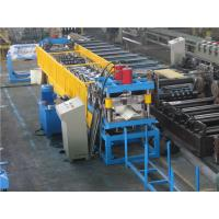 Wholesale Gutter Roll Forming Machine , Color Metal Roof Machine With Auto Stacker from china suppliers