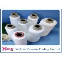 Wholesale Knitting and Sewing Polyester Spun Yarns with 100% Virgin Fiber Raw White and Eco-friendly from china suppliers