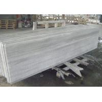 Wholesale Wood Grain Full Edge Marble Look Countertops , Bathroom Vanity Laminate Marble Countertop from china suppliers