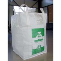 Wholesale White Black Bulk Food Grade FIBC Bag Big Ventilated Pp Woven Bag from china suppliers