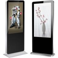 Wholesale Outdoor Floor Standing Digital Signage Kiosk With Shoes Cleaning Function from china suppliers