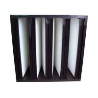 Wholesale Secondary V Cell Industrial Air Filters Fiberglass Air Filter With ABS Plastic Frame from china suppliers