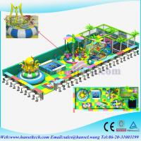 Wholesale Hansel baby indoor soft play equipment soft play center from china suppliers
