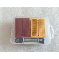 Wholesale OEM 6 PCS Colorful Solderless Breadboard Kit With 20 cm M-F Jumper Wire from china suppliers