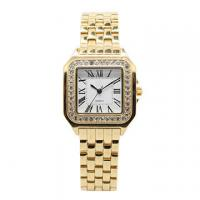 Wholesale Gold Square Stainless Steel  Wrist Watch , Womans Luxury Watches from china suppliers