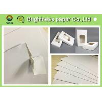 "Wholesale White Backing Board Hang Tag Paper Board With 100% Recycled Pulp 31"" * 43"" from china suppliers"