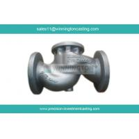 Wholesale Globle Valve fabricated by Carbon Steel Investment Casting made of 1.0619 tempered and pickled from china suppliers