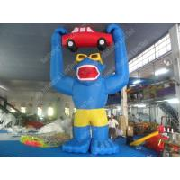 Wholesale Professional Inflatable Cartoon Characters , Cute 5m Blue Inflatable Colossus from china suppliers