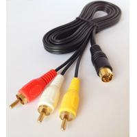 Wholesale Saturn AV Cable for SEGA MASTER SYSTEM MEGADRIVE TV / AV RCA CABLE/LEAD from china suppliers