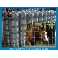 Wholesale Multi Function Galvanized Cattle Fence , Galvanized Horse Fence 30 - 100m Length from china suppliers