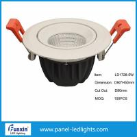 Wholesale D120mm X H65mm cob Dimmable LED Downlights high brightness 5w 10w 15w from china suppliers