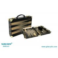 Wholesale Complete Set Lucite Chess Backgammon Set Gorgeous Pattern Bright Customization from china suppliers