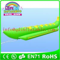 Wholesale Water float single inflatable banana boat folding boat inflatable boat from china suppliers