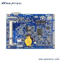 Wholesale N2807u CPU 6 COM Industrial PC Motherboard 3.5inch Mainboard Fanless Dual LAN Board from china suppliers