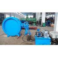 Wholesale DN2000mm Hydraulic Heavy Hammer  Butterfly Valve for Hydropower Station, hydropower equipment from china suppliers