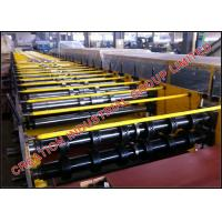 Quality Galvanized Steel Floor Dek Panel Roll Former Machine with Embossing Rollers for sale
