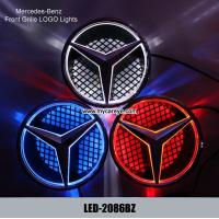Wholesale Mercedes-Benz E300 E350 E400 E500 Front Grille logo LED Light Original Badge decal from china suppliers