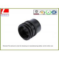 Wholesale CNC Custom Plastic Parts Black POM Sleeve Used For Sensor System Outdoor from china suppliers