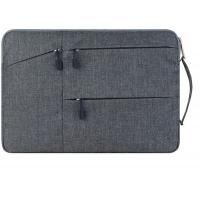 Wholesale Grey 18'' Waterproof Laptop Sleeve Case , Lightweight Laptop Sleeve With Handle from china suppliers