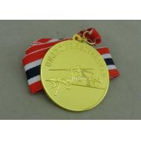 Wholesale Copper Die Stamped Sport Meeting Awards Medals , Carnival Medals For Promotion from china suppliers