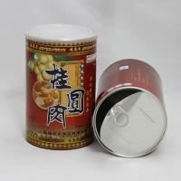 Wholesale CMYK Printing Red Cardboard Kraft Paper Composite Cans for Dried Fruits and Nuts OEM ODM from china suppliers