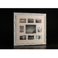 Wholesale Mixed Nine Openings Wooden Collage Frames / wall decor art frames Distressed Black Finishing from china suppliers