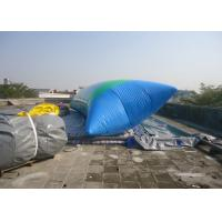 Quality 1.0MM PVC Tarpaulin Inflatable Water Fun , Inflatable Water Blob For Water Play Equipment for sale