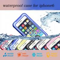Wholesale Iphoen 6 Waterproof Case Shockproof Mobile Cover Underwater Swimming from china suppliers