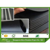 Wholesale Black Paper and Paperboard for Bag / Photo Frame / Gift Box / Packaging Material from china suppliers