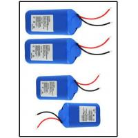 Wholesale 7.4V 2600mAh GPS Battery Pack With PCM / Connector , 1S1P Configuration from china suppliers