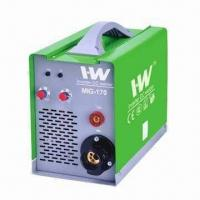 Wholesale Inverter MIG welder with IGBT, wire feeder inside, steel and aluminum to weld from china suppliers