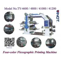 Wholesale PE Material Four Color Flexo Printing Machine High Printing Speed 50m/Min from china suppliers