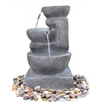 Wholesale Decorative Outdoor Tiered Water Fountains In Magnesia Material from china suppliers