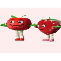 Wholesale handmade advertising tomatoes mascot cartoon costumes for kids and adults from china suppliers