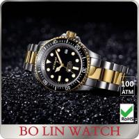 Quality Waterproof Stainless Steel Dive Watch With BGW9 Luminous Swiss Movement Automatic Watch for sale