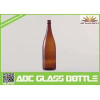 Wholesale 750ml Antique Amber Wine Glass Bottle,brown wine glass bottle for sale from china suppliers